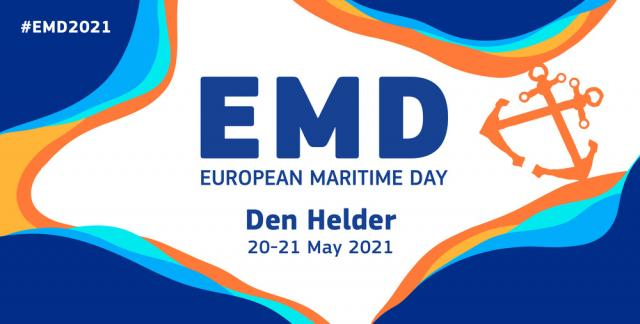 Join European Maritime Day 2021 in DEN HELDER & online: 20-21 MAY 2021 - Κεντρική Εικόνα
