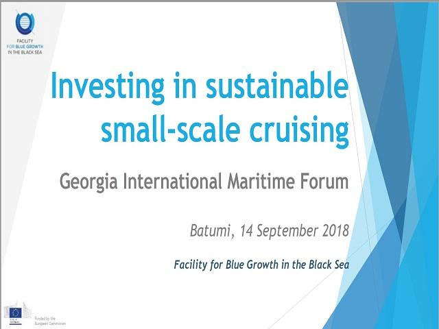 GIMF2018:  Workshop on Small Scale Cruise - Κεντρική Εικόνα
