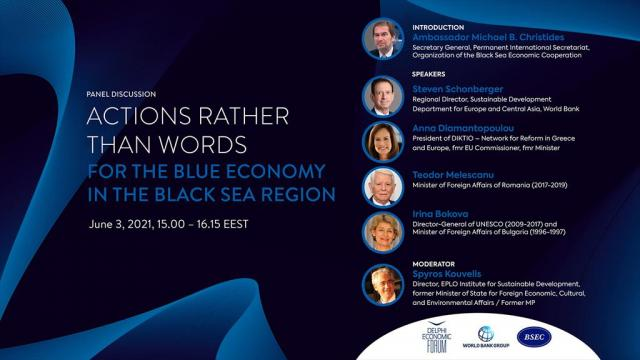 Actions Rather than Words for the Blue Economy in the Black Sea Region - Κεντρική Εικόνα