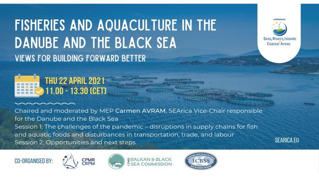 Fisheries and Aquaculture in the Danube and the Black Sea region:  views for building forward better - Κεντρική Εικόνα