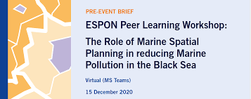 ESPON Peer Learning Workshop: The Role of Marine Spatial Planning in reducing Marine Pollution in the Black Sea - Κεντρική Εικόνα