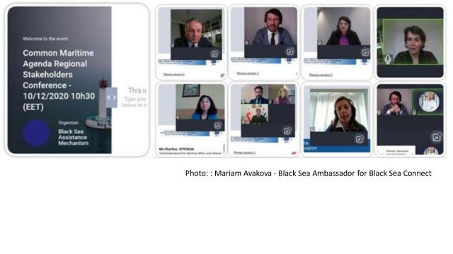 """""""POST EVENT"""" 10 DECEMBER 2020 - COMMON MARITIME AGENDA FOR THE BLACK SEA - REGIONAL STAKEHOLDERS CONFERENCE. - Κεντρική Εικόνα"""