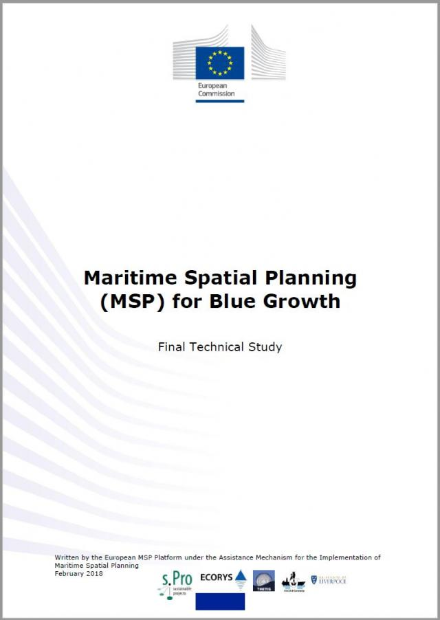 New study provides guidelines for successful maritime spatial planning. - Media Gallery