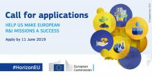 Commission invites top experts to shape new research and innovation missions - Κεντρική Εικόνα